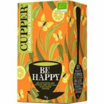 Be Happy tea (filt.) BIO 40g Cupper
