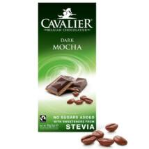 Belga étcsokoládé (kávés) 85g