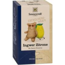 Gyömbér Citrom tea BIO 20x1,5g Sonnen