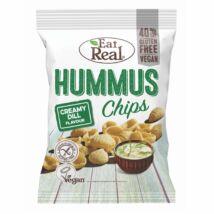 Humusz chips (tejszínes-kapros) 45g