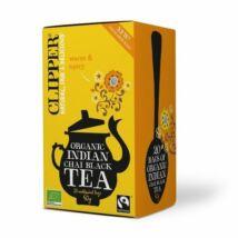 Indián chai fekete tea BIO 20x2,5g Clipp