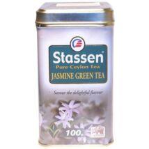 Jázmin zöld tea, fémdobozos 100g Stassen