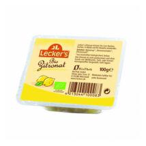 Kandírozott citromhéj BIO 100g Lecker's