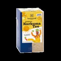"""Kurkuma tea """"arany"""" BIO 18x2g Sonnentor"""