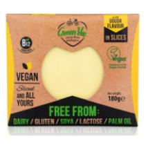 Növényi sajt (gouda) szelt. 180g GreenVi