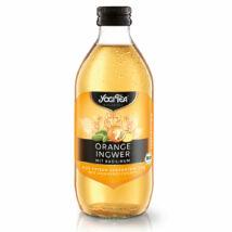 Narancs-gyömbér tea ital BIO 330ml YogiT