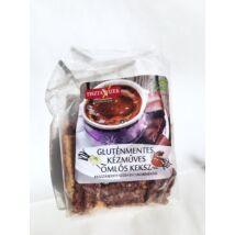 Omlós keksz vanília-kakaó (glutm.) 225g