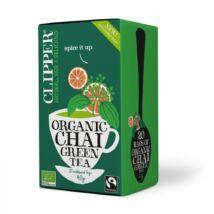 Zöld chai tea BIO 20x2g Clipper