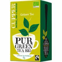 Zöld tea BIO 20x1,7g Cupper