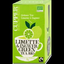 Zöld tea lime-gyömbér (filt.) BIO 35g