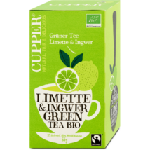 Zöld tea lime-gyömbér BIO 20x1,7g Clippe