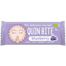 Áfonyás nyers szelet BIO 30g QuinBite
