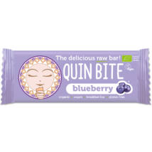 Áfonyás nyers szelet 30g BIO QuinBite
