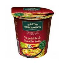 Zöldségleves tésztával asia 55g bio NC
