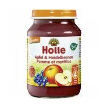 Bébiétel alma feketeáfonyával 190g bio H