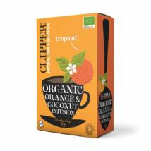 Narancs kókusz tea 20x3g BIO Clipper