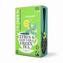 Zöld tea aloe verával bio C 20x2g