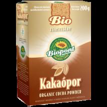 Kakaópor zsírszegény BIO 200g Biopont