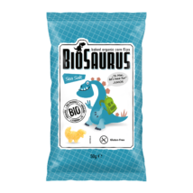 Kukoricás snack, tengeri sós BioSauru