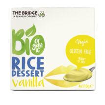 Rizsdesszert vaníliás BIO Bridge