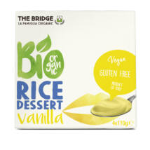 Rizsdesszert vaníliás BIO 4x110g Bridge