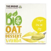 Zabdesszert vaníliás BIO 4x110g Bridge