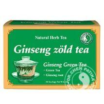 Ginseng zöld tea 20x3g Dr. Chen