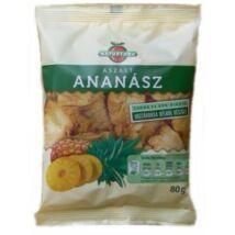 Aszalt ananász 80g Naturfood