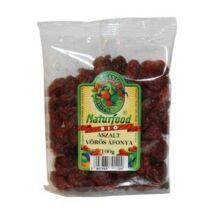 Aszalt vörös áfonya 100g BIO Naturfood