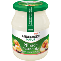 Joghurt (őszibarack-maracuja) BIO 500g