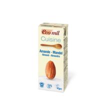 Mandula tejszín BIO 200ml Ecomil