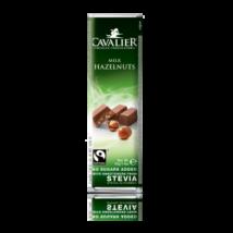 Belga tejcsoki mogyoróval 40g Cavalier