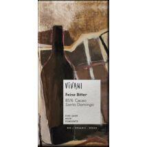 Étcsokoládé 85% kakaóval  Vivani