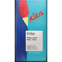 KIDS tejcsokoládé BIO 100g Vivani
