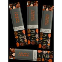 Csokiszelet karamell krémes BIO Vivani