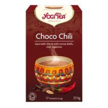 Csokoládés chilis tea bio Yogi 17x2,2g