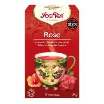 Rózsa tea BIO 17x1,8g YogiTea