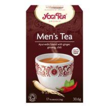 Férfi tea bio Yogi 17x1,8g