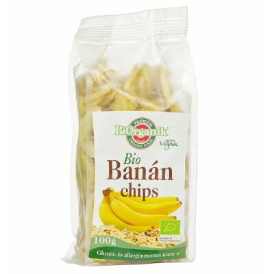 Banánchips BIO 100g Biorganik