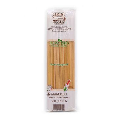 Durum tészta spagetti BIO 500g Iris