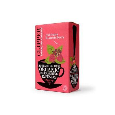 Erdei gyüm.-arónia tea BIO 25x2,5g Cuppe