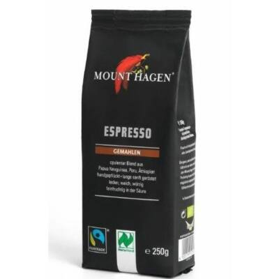 Espresso kávé (őrölt) BIO 250g Mount H.