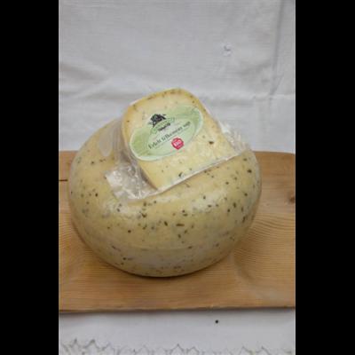 Félkemény fokhagymás sajt BIO 1kg