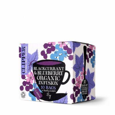 Feketeribizli-áfonya tea BIO 20x1,2g Cli