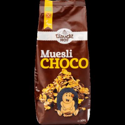 Müzli csokoládés (glutm.) BIO 300g Bauch
