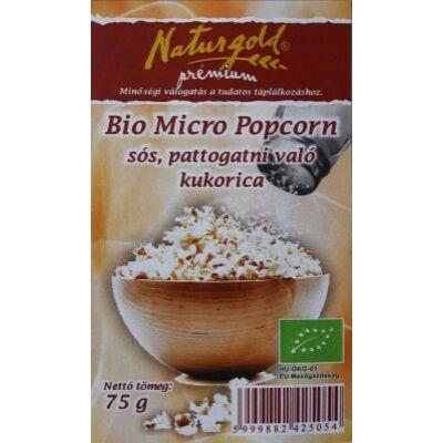 Popcorn kukorica BIO 75g Naturgold