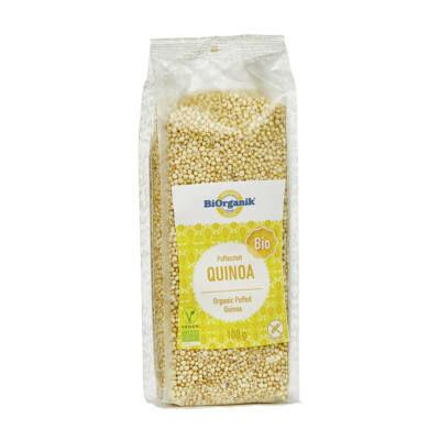 Puffasztott quinoa BIO 100g Biorganik
