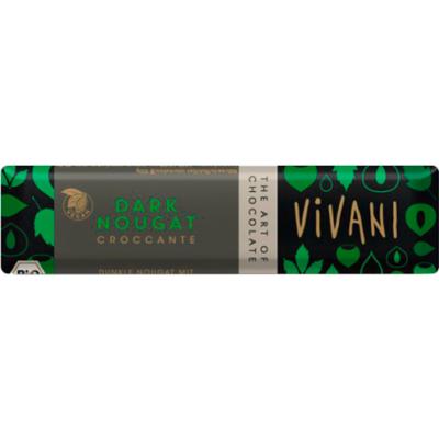 Rizsitalos csokoládé nugátkrémes BIO 35g