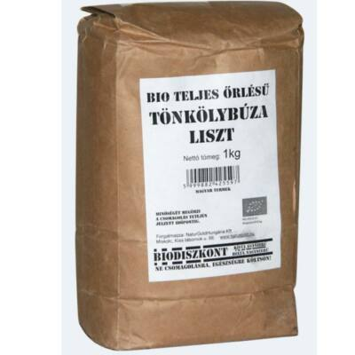 Tönkölybúza liszt TK BIO 1kg Biodiszkont