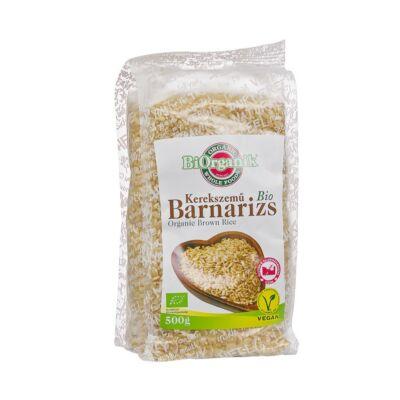 Barna rizs (kerekszemű) BIO 500g